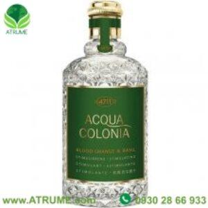 عطر ادکلن مورر اندورتز 4711 اکوا کولونیا بلود اورنج اند باسیل  100 میل مردانه – زنانه